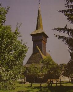 Bogdan Voda wooden church, general view