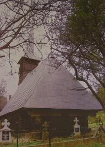 Boereni wooden church,  general view