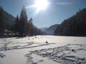 Lacul Rosu, iarna