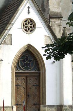 Intrarea in Biserica Reformata Calvina