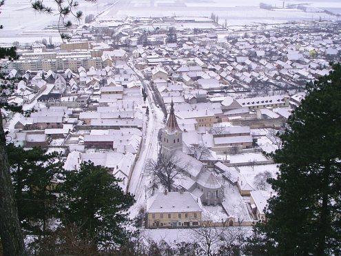 Vedere asupra orasului Rasnov