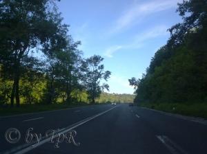 Pe drum spre Sinaia