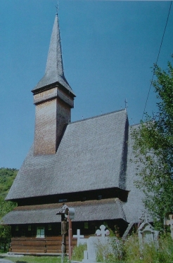 The wooden church, general view