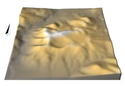 Relieful Lacului Sfanta Ana