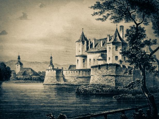 cetatea Fagarasului in 1883