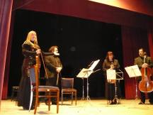 Concertul cvartetului Clasica pe scena teatrului