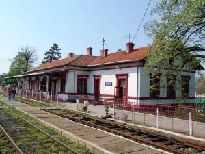 Gara Oravita, prima gara din Romania