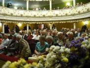 Teatrul Vechi Mihai Eminescu din Oravița, sala barocă