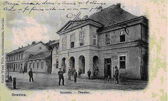 Teatrul Vechi Mihai Eminescu, Oravița, sfârșit de sec. XIX