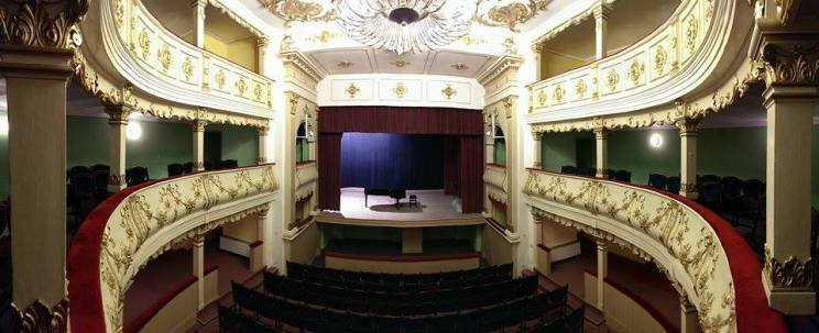 Teatrul Vechi Mihai Eminescu, vedere din balcon