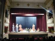 Trupa de teatru a Seminarului Teologic Ioan Popasu, pe scena teatrului din Oravița