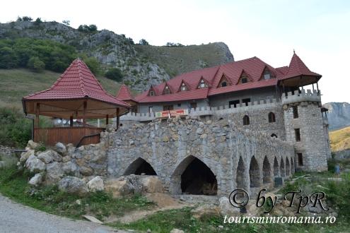 Castelul Templul Cavalerilor, Cheile Aiudului, județul Alba