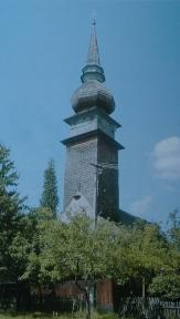 Laschia wooden church, general view