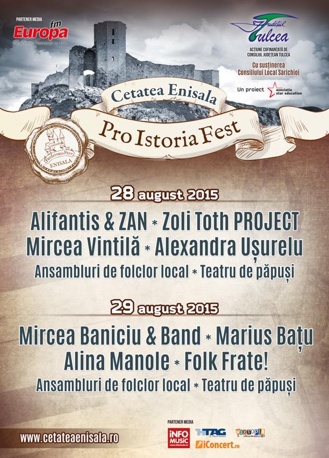 Pro Istoria Fest - 28-29 august 2015 - Cetatea Enisala