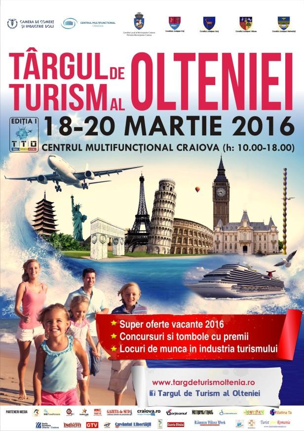 Afis Targul de Turism al Olteniei