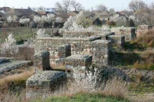 Ruinele cetatii Sucidava