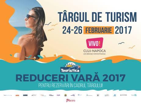 Târgul de Turism Touristica, 24 - 26 februarie 2017, Cluj Napoca, Vivo! Center