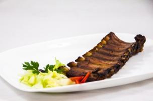 coasta de porc BBQ