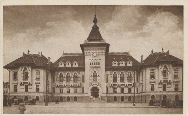 Palatul-Administrativ-din-Craiova-Prefectura-Dolj-in-1945